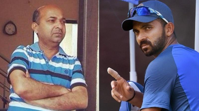 Ajinkya Rahane's father arrested after vehicle hits woman
