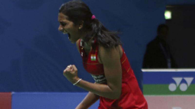Before the match, PV Sindhu had a 4-2 head-to-head record against Akane Yamaguchi, which included a win at the Hong Kong Super Series last month.(Photo: AP)