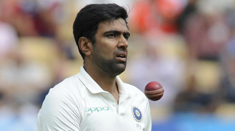 In contrast to Moeen Ali's five-wicket haul, R Ashwin struggled to get going on Saturday and finished with 1-78 in 35 overs despite his good bowling form earlier in the series. (Photo: AP)