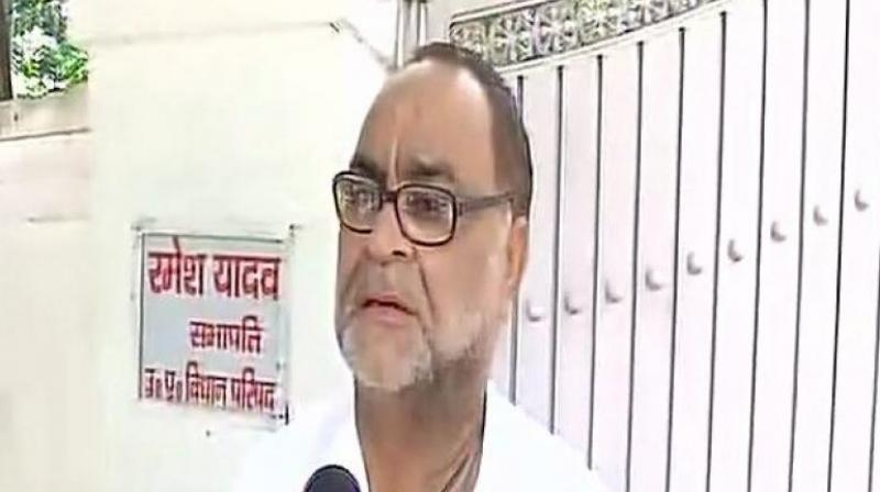 Bukkal Nawab said praised the works of Yogi government in UP and Narendra Modi's government at the centre. (Photo: ANI)