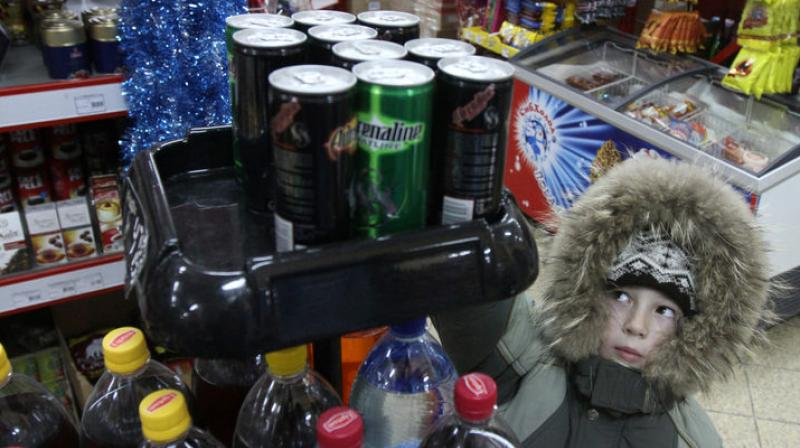 Energy drinks were worse than chocolates and sweets (Photo: AFP)