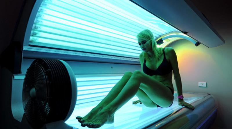 "There is a ""proven"" link between artificial sunlight and human cancer (Photo: AFP)"