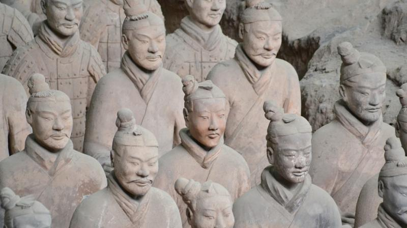 Terracotta army. (Photo: Pixabay)