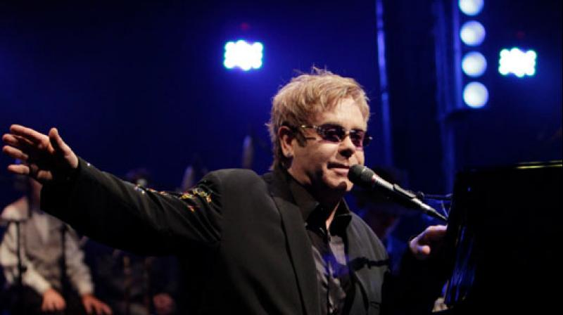 Sir Elton John. (Photo: AP)