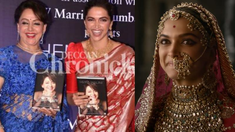 Did Deepika Padukone Act With Jyothika In A South Indian: When Hema Malini Played Padmavati On-screen And The Act