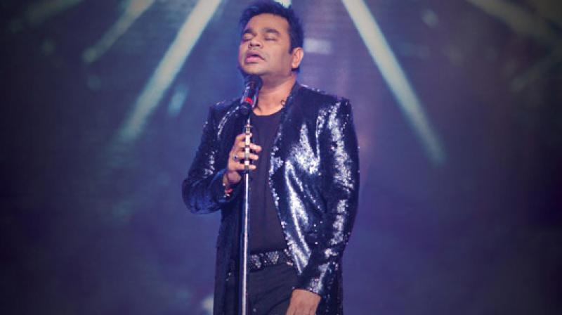 A R Rahman was accompanied by Mohit Chauhan, Harshdeep Kaur, Javed Ali at his concert.