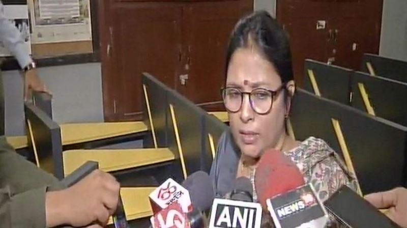 GD Birla Centre for Education school authorities have announced that the vice-principal will be the officiating principal from Thursday. In picture: Former principal Sharmila Nath. (File photo)