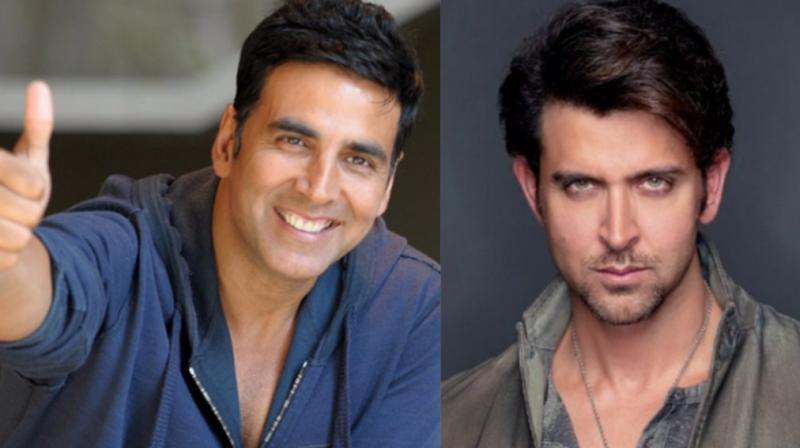 Akshay Kumar and Hrithik Roshan's films had famously clashed in 2016.