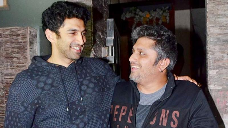 Aditya Roy Kapur and Mohit Suri in happier times.