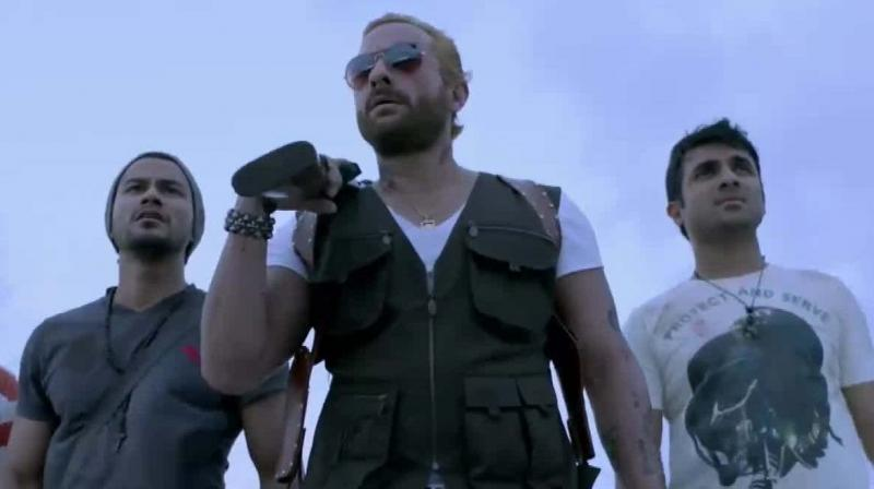 A still from 'Go Goa Gone.'