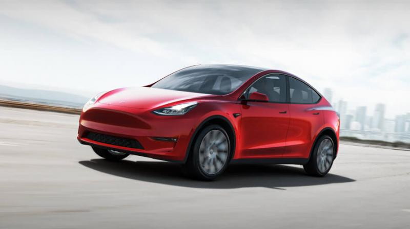 A standard version Tesla Model Y to be available sometime in 2021, would cost $39,000, with a 230-mile range.