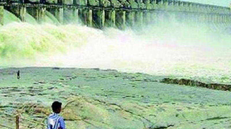 The civic officials are drawing Godavari river water through dedicated pipeline from Durga ghat to the parks to fill up the tanks at regular intervals. (Representational Image)