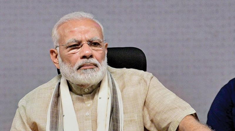 Prime Ministe Narendra Modi.