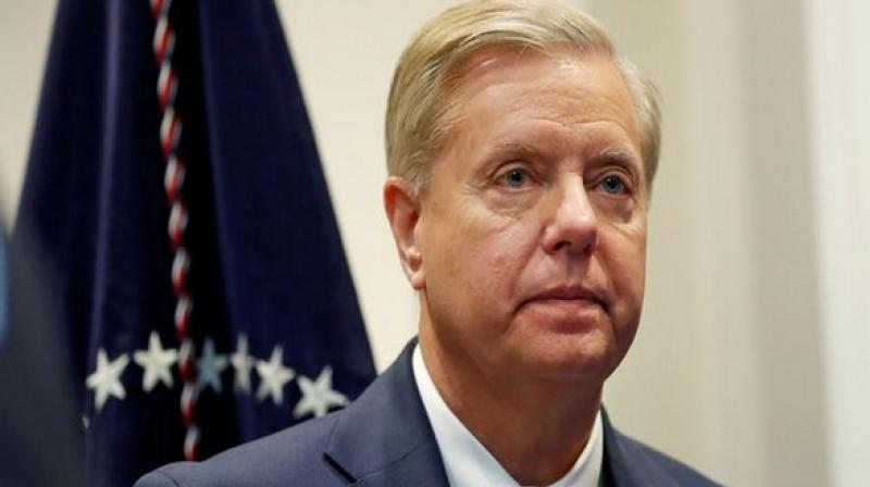 Graham's remarks came a day after House Republicans and Democrats sparred over whether the whistleblower would provide testimony as part of the impeachment inquiry. (Photo: ANI)