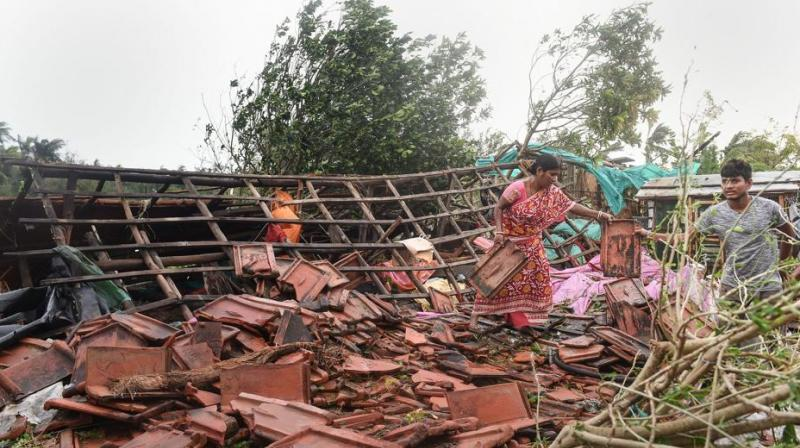 No major damage was immediately reported in camps in southeast Bangladesh where hundreds of thousands of refugees from neighbouring Myanmar are living. (Photo: PTI)