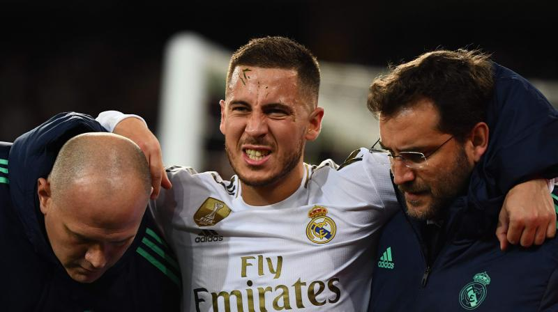 Eden Hazard out of El Clasico with fractured ankle