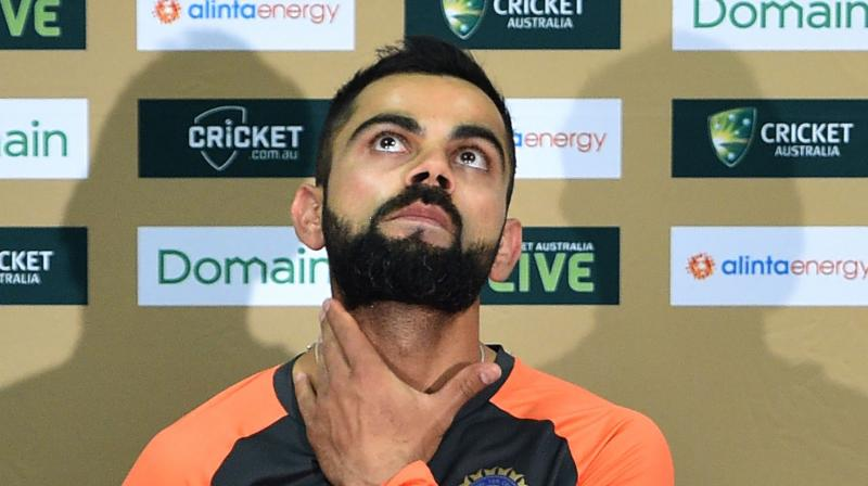 India captain Virat Kohli says he was sad to see the public backlash faced by Steve Smith and David Warner for their role in the ball-tampering scandal in South Africa earlier this year. (Photo: AFP)