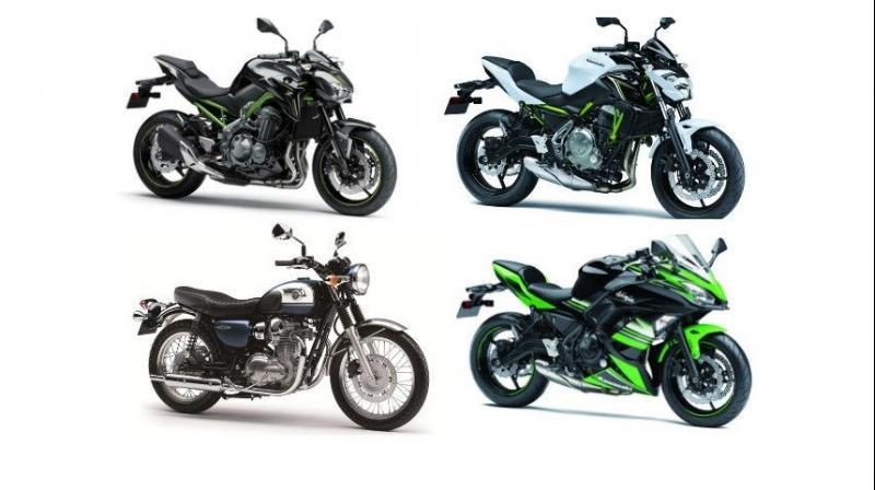 Kawasaki Will Launch 4 New Bikes Next Month