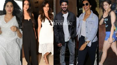 Bollywood stars were spotted in Mumbai for their films and other events on Monday. (Photos: Viral Bhayani)