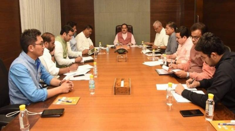 Two committees have been formed for the preparation of the program which will be headed by Minister of Petroleum and Natural Gas Dharmendra Pradhan and Minister of Jal Shakti Gajendra Singh Shekhawat. (Photo: ANI)
