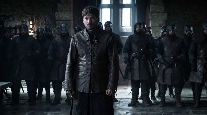 Jaime faces Jon,Dany,Sansa and Bran at Winterfell (Photo: HBO/IMDB)