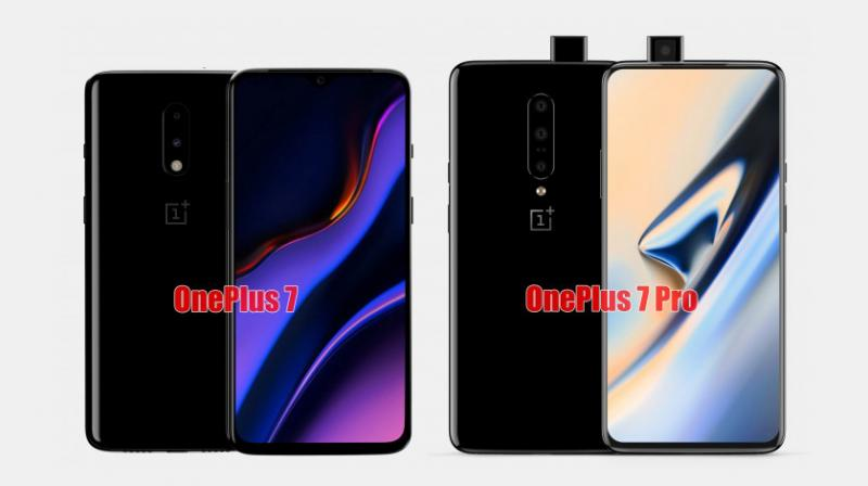 The OnePlus 7 will come with a 6.4-inch FHD+ display while the OnePlus 7 Pro will feature a 6.7-inch QHD+ screen with a refresh rate of 90Hz.