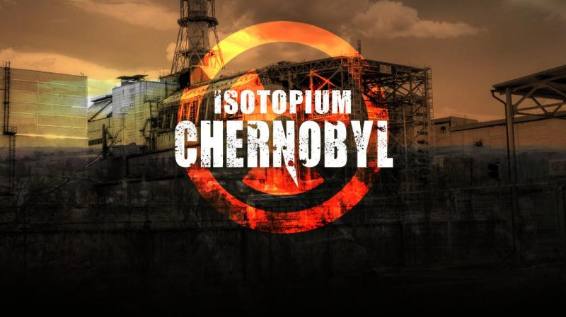 "Players of ""Isotopium: Chernobyl"" drive tanks around the ghost town of Prypyat near Chernobyl."