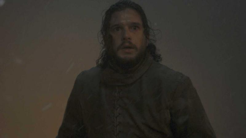 Still of Jon Snow from the Game of Thrones episode The Long Night. (Photo: HBO)