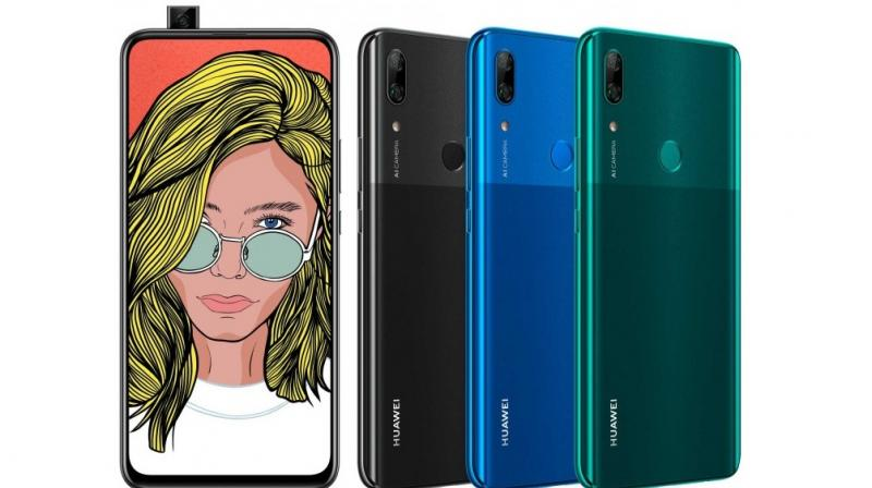 , Huawei is preparing to launch a handset called the P Smart Z and it follows the trend set by vivo and OPPO as it too will come with the pop-up camera.