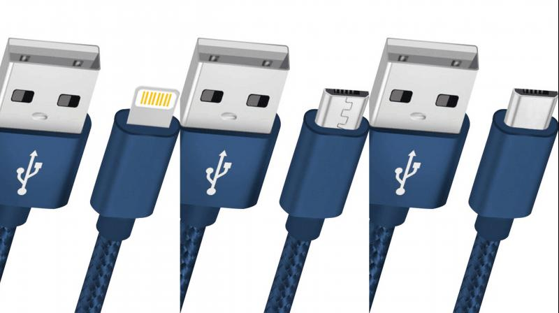 The company is rolling out 3 types of nylon cables.