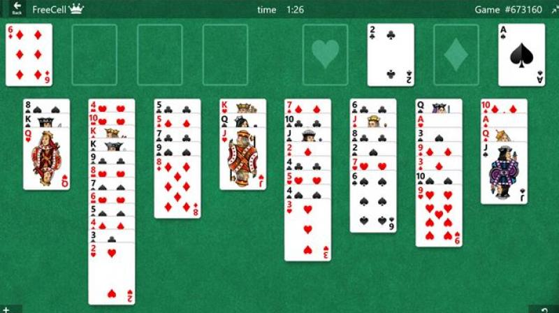 Microsoft Solitaire became a part of every individual born in the 90s.