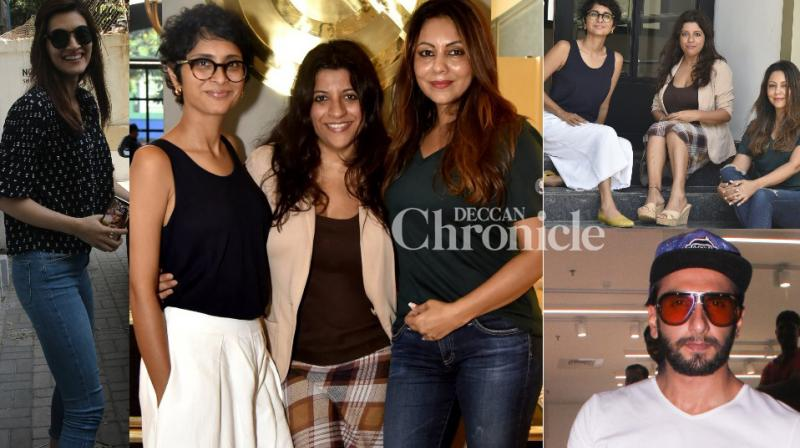 Celebrities from B-Town made it to the paparazzi diaries as they stepped out in Mumbai on Saturday. (Photo: Viral Bhayani)