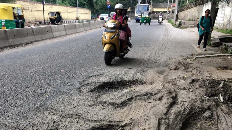 Reacting to these complaints, ORR chief general manager B.L.N. Reddy said that HMDA had started work on repairing the roads. He said that impatient commuters are posting videos of bad roads on social media though work is in progress.