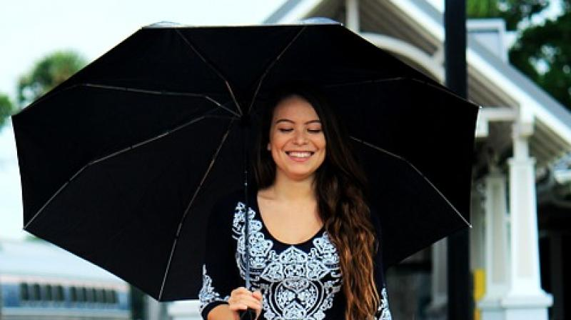 ancy umbrellas and jelly shoes are perfect accessories. (Photo: Pixabay)