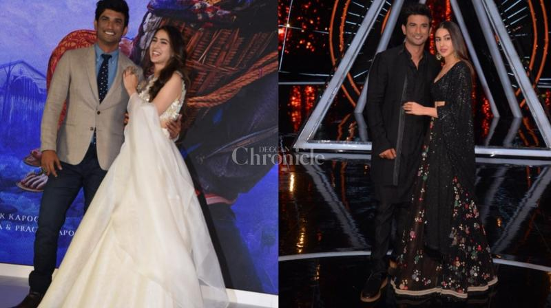 The newest pair in town, Sara Ali Khan and Sushant Singh Rajput were quite the buzzing topic as their chemistry was quite visible not only on-screen but off-screen as well.