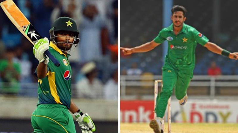 Azam stroked yet another hundred against the West Indies and Hasan Ali claimed five wickets as Pakistan beat hosts by 74 runs in second ODI to level the three-match series. (Photo: AFP)