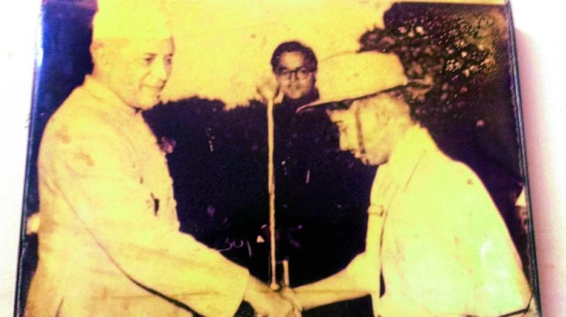 Harish Chandra Mehra had saved former Prime Minister Pandit Jawaharlal Nehru from a fire.
