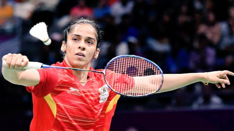 Saina played all the matches in the mixed team championship before competing in the individual event. (Photo: Twitter / Saina Nehwal)