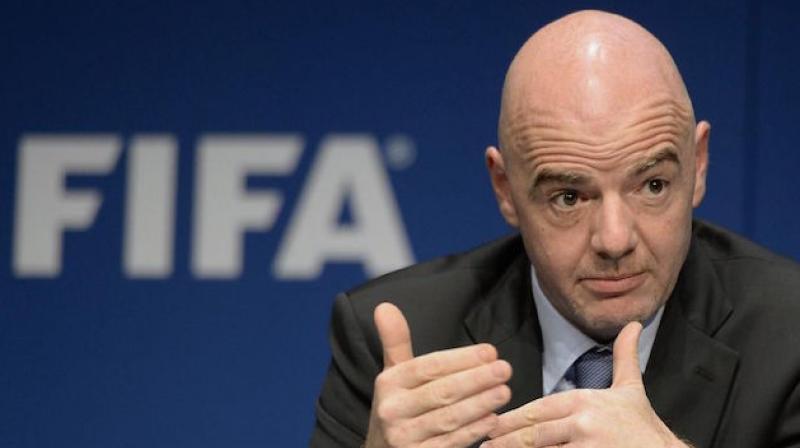 FIFA president Gianni Infantino. (Photo: AP)