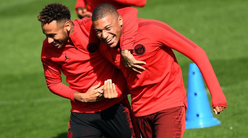 Reflecting on Mbappe's skill-set as a player, the Brazilian said that he is a technical leader and knows his responsibilities very well. (Photo: AFP)