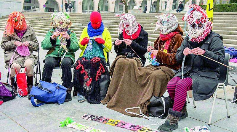 Women protesting Donald Trump's election in the United States organised online to trigger marches across several other countries.