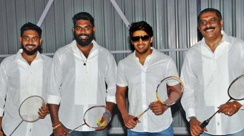 Ajay has launched his state-of -the -art badminton academy named V Square in the city, which was unveiled by actor Arya recently.