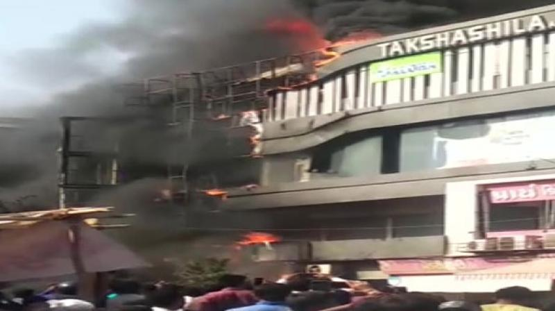 The court also issued a notice to the state government on the petition moved by Jaysukh Gajera, father of a 17-year- old girl, who died in the fire at a four-storey commercial complex in Surat. (Photo: File)