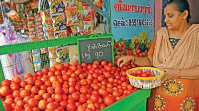 Onion, tomato are being sold at up to Rs 70 per kg, depending on the quality and locality, as per trade data. (Photo: File)