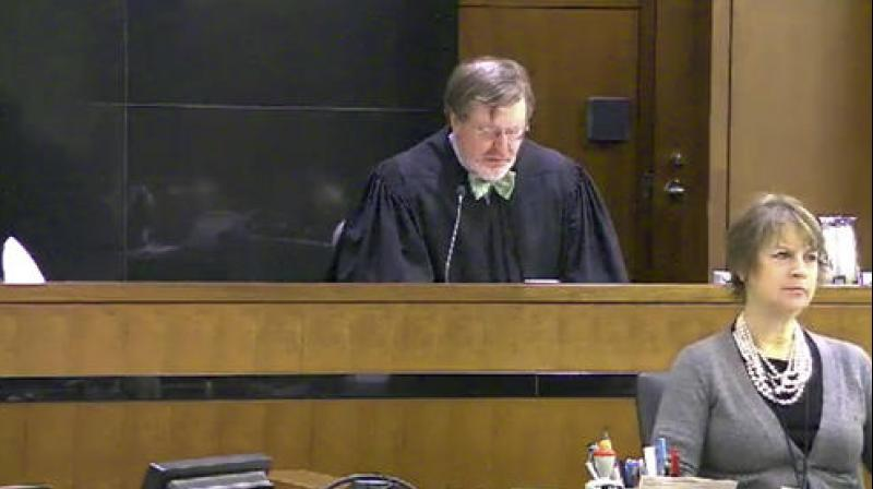 Judge James Robart listening to a case at Seattle Courthouse. (Photo: AP)