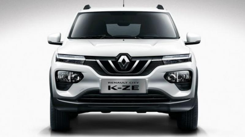 All-electric version of Kwid gets 26.8kWh lithium-ion battery pack to power its electric motor rated at 44PS/125Nm.