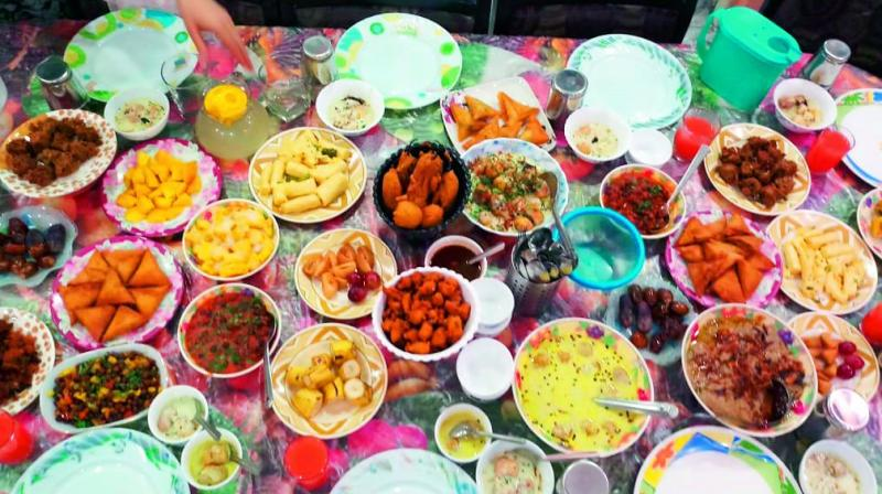 Most people think that fasting is the most important aspect of Ramzan, but iftar, the breaking of the fast, holds great traditional value too.