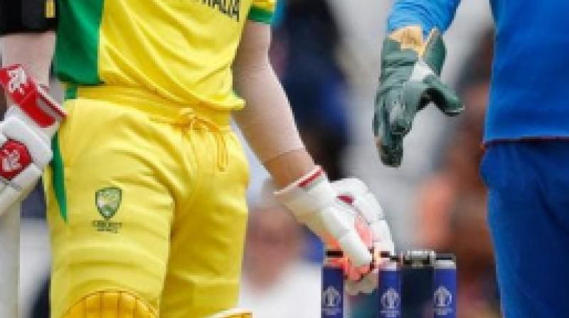 There have been close to 10 occasions during the ongoing World Cup when the ball has hit the stumps but bails haven't come off. (Photo:AFP)