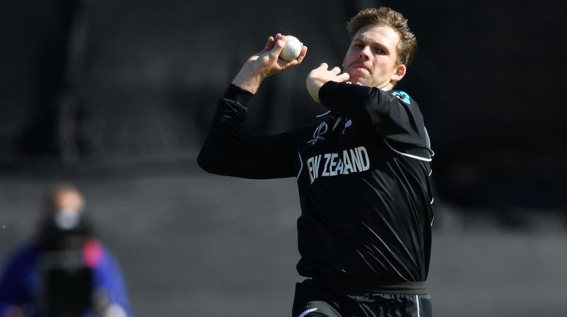 Prior to the match against India, the pacer opined that it is essential for the team to pick up early wickets upfront to apply pressure on the opponent. Lockie Ferguson also acknowledged that the team has an experienced bowling lineup which makes his job easier. (Photo:AFP)