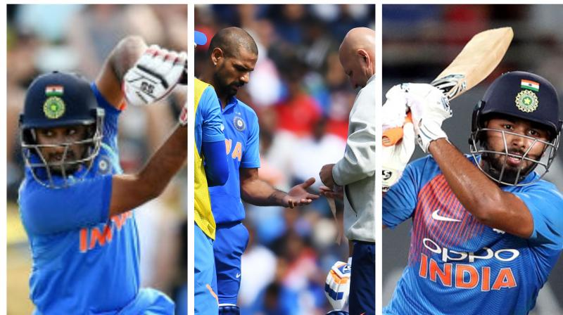 ICC CWC'19: Rayudu vs Pant; Indian experts debate over who should replace Dhawan